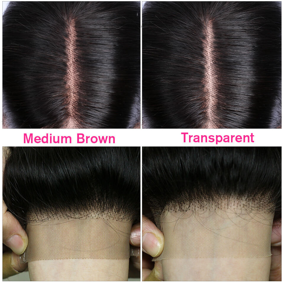 Straight 13*6 Lace Front Wigs 24-40 Inch 150%-250% Density With 6' Deep Part 6