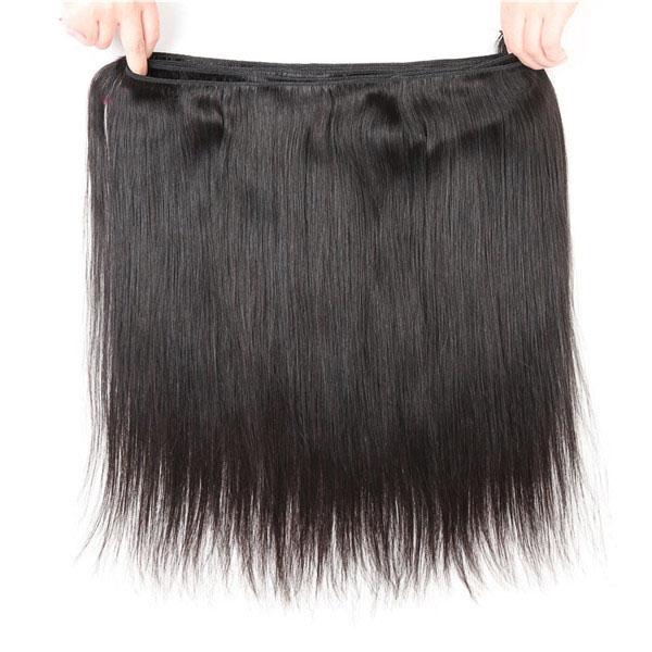Straight Hair Weave 1 Bundle Deal Human Hair 8-40 Inch 5