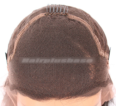 """Charming Body Wavy Human Hair Lace Front Wigs With 4.5"""" Super Deep C Side Part"""