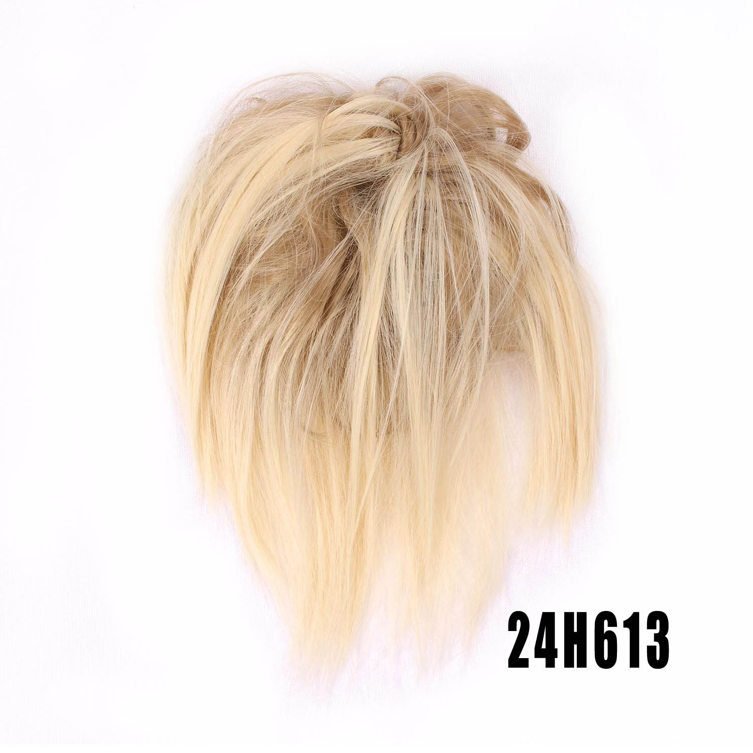 Synthetic Hair Flexible Scrunchie Bun Wrap Hair Chignon Ponytail  Body Wave 8