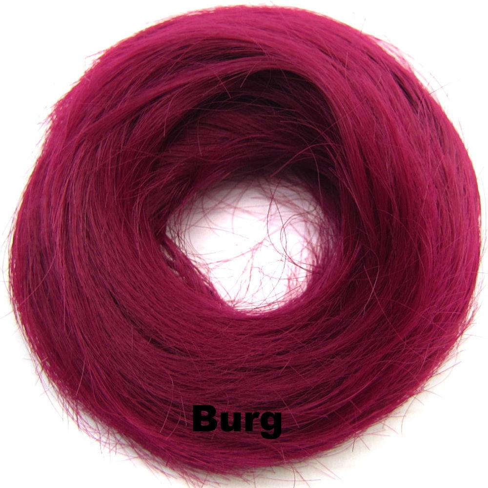 Synthetic Hair Flexible Scrunchie Wrap Hair Bun Ponytail Extensions Straight 21
