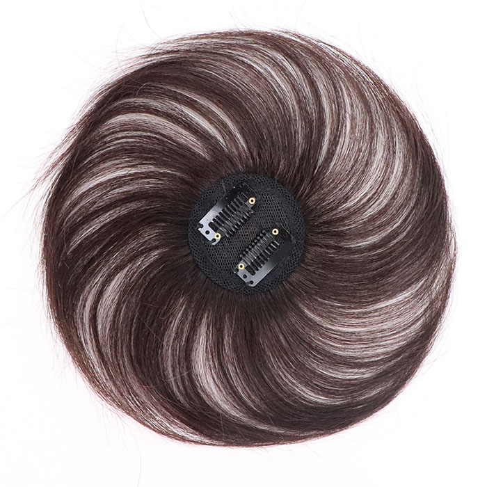 The Head Piece Of Whole Human Hair Wigs Cover Hair Wig Replacement Without A Trace Of Men And Women