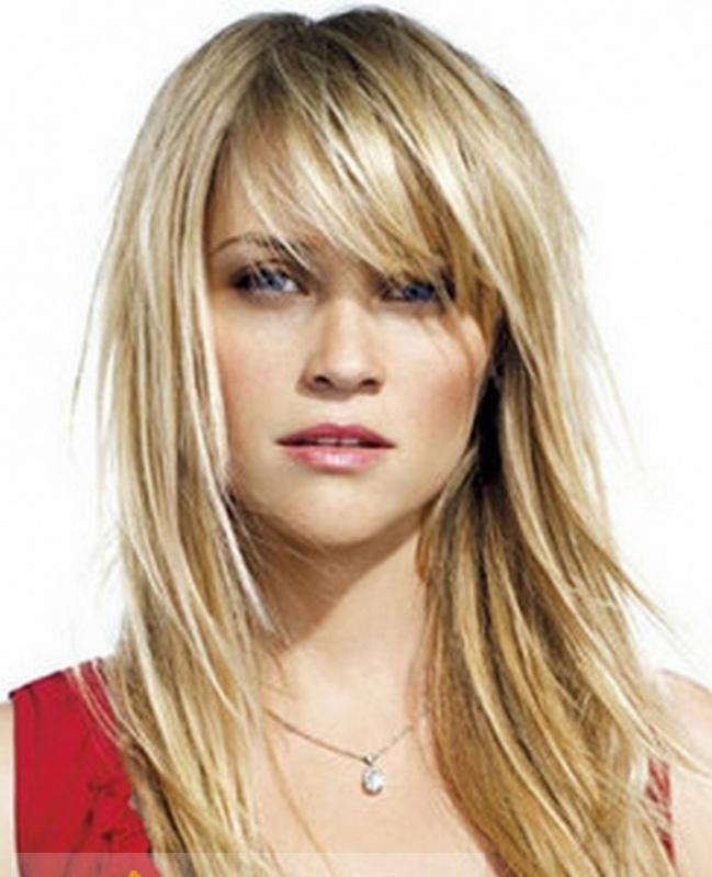 Top Quality Blonde Human Hair Wigs with Bangs
