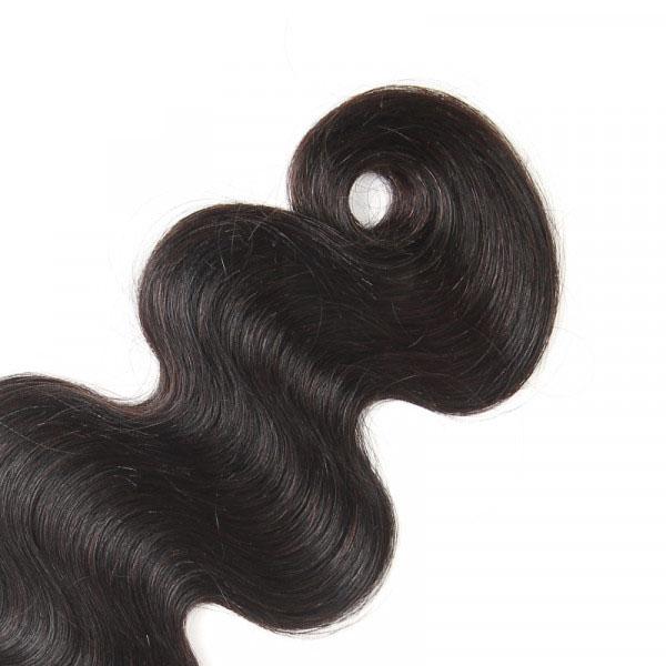 Virgin Brazilian Hair 3 Bundles Body Wave Weave Hairstyles 6