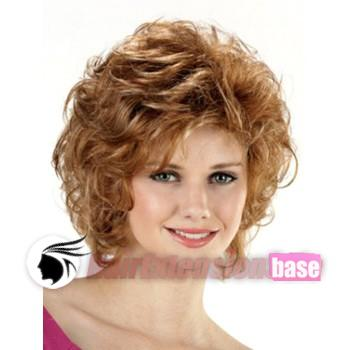 Wavy Short Synthetic Hair Wigs  27 Strawberry Blonde no 3 53c6f8863