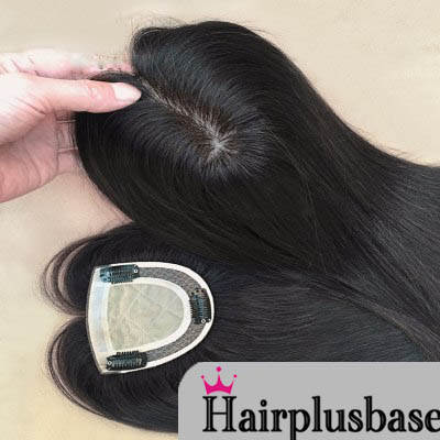 Wearing Hairpiece For Men And Women Wig Block Needle Silk Top Delivery Models 0