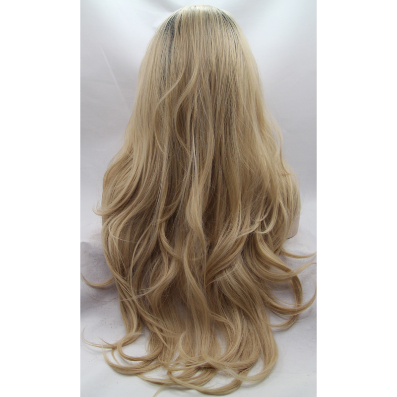 Wholesale Body Wave Blonde Ombre Front Lace Wig 2