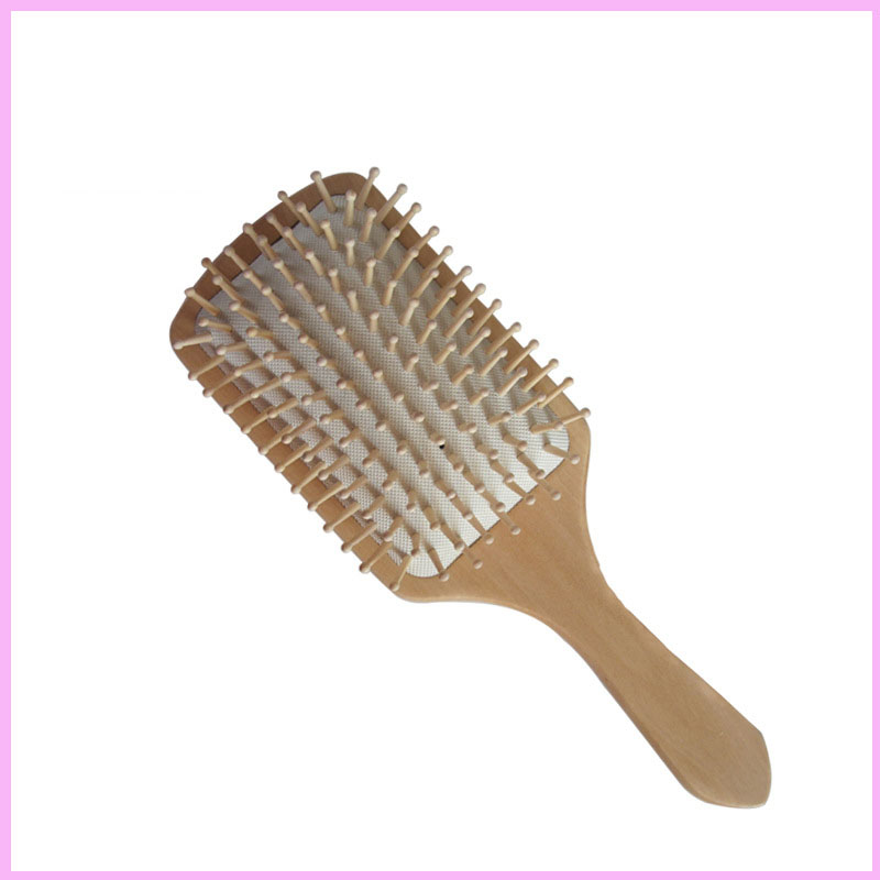 Wooden Paddle & Best Detangler All Hair Types